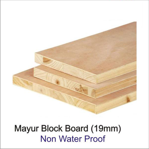 Mayur 19 Mm Thick Block Board Non Water Proof