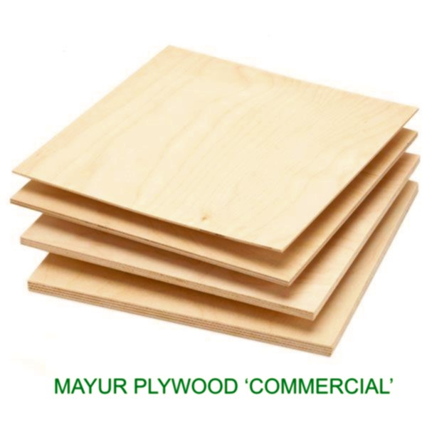 MAYUR 12 MM Thick Commercial Plywood