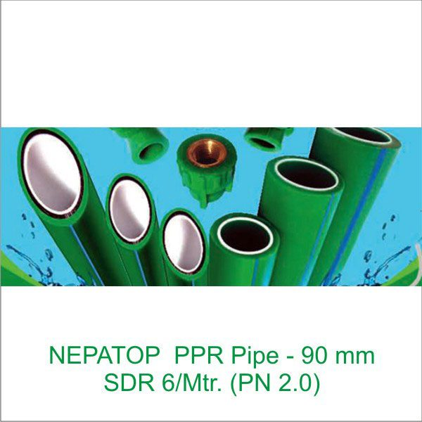 Nepatop Ppr Pipe Sdr 7 4 Mtr Pn 1 6 50 Mm