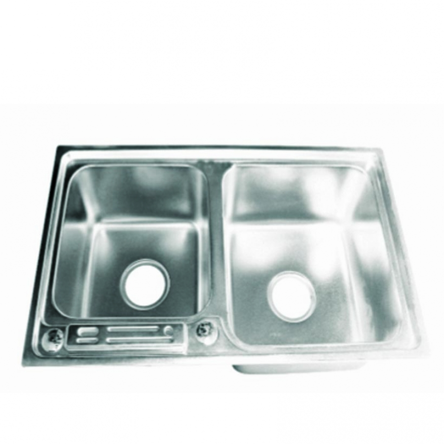 7243 Double Bowl with Knife Holder Kitchen Sinks – Nepal ...