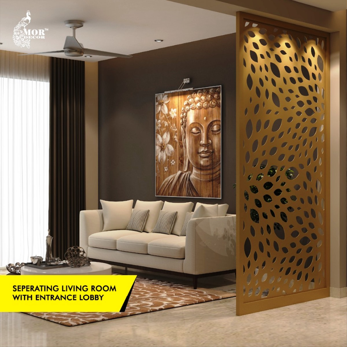 Cnc Designs जालि डिजाइनहरू For Room Partitions