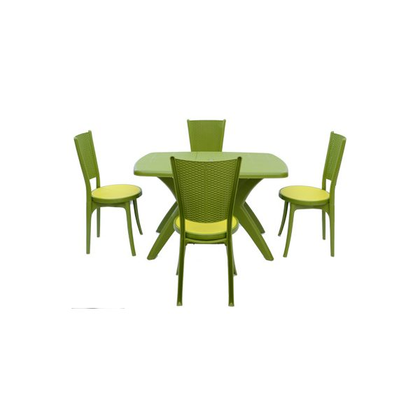 Supreme Furniture Iris With Melody Dining Set